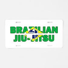 Brazilian Jiu-Jitsu 001 Aluminum License Plate