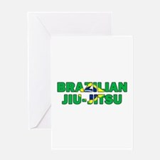 Brazilian Jiu-Jitsu 001 Greeting Cards