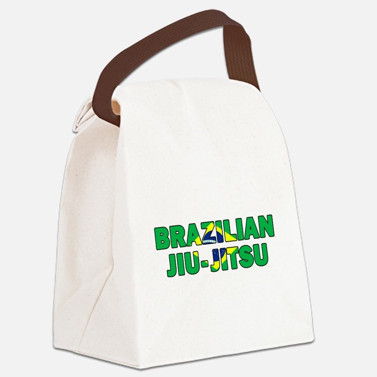 Brazilian Jiu-Jitsu 001 Canvas Lunch Bag