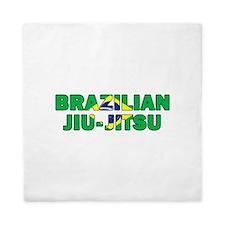 Brazilian Jiu-Jitsu 001 Queen Duvet