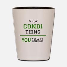 Cute Condi Shot Glass