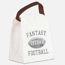Fantasy Football Legend Canvas Lunch Bag