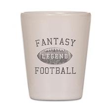 Fantasy Football Legend Shot Glass