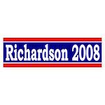 Richardson 2008 bumper sticker