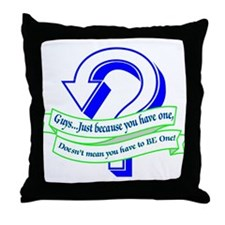 Just n Case... Throw Pillow