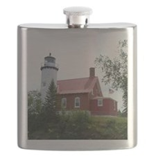 Eagle Harbor Lighthouse Flask