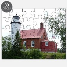 Eagle Harbor Lighthouse Puzzle