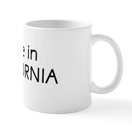 Made in California T-shirt Mug