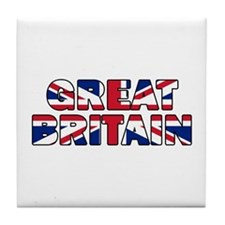 Great Britain 001 Tile Coaster