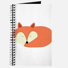 Sleepy Red Fox Journal