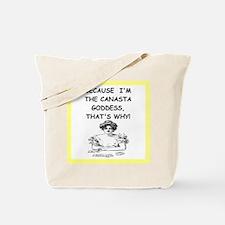 canasta joke Tote Bag