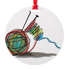 Time to Knit Ornament