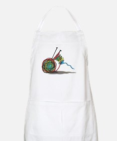 Time to Knit Apron