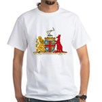 Adelaine Coat of Arms White T-Shirt
