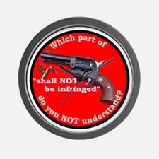 Infringement Wall Clock