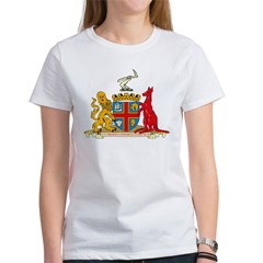 Adelaine Coat of Arms Women's T-Shirt