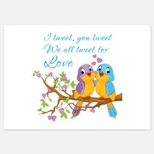 Tweeting For Love- Invitations