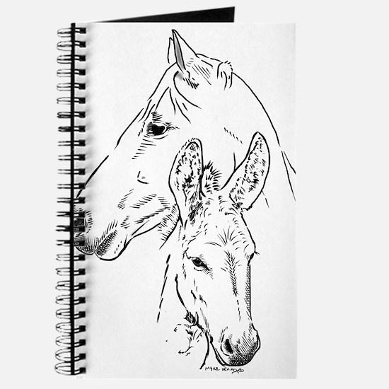 horse and mini donkey Journal
