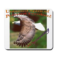 Untamed Spirit Two - Mousepad