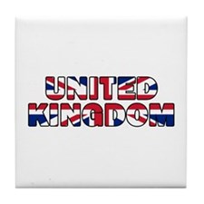 United Kingdom 001 Tile Coaster