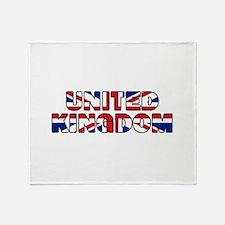 United Kingdom 001 Throw Blanket