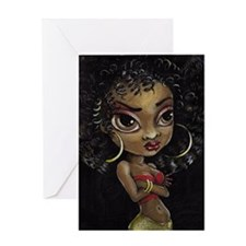 Disco Diva Greeting Cards