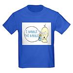 I Babble The Babble Kids Dark T-Shirt