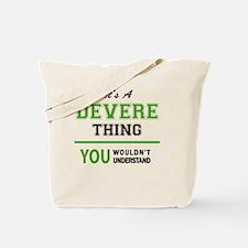 Cute Devere Tote Bag