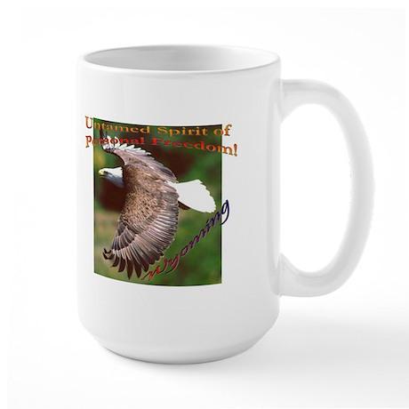 Untamed Spirit Two - Large Mug