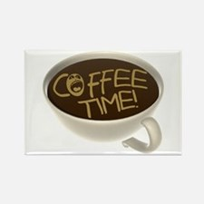 Coffee Time! Coffee Lovers Rectangle Magnet
