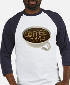 Coffee Time! Coffee Lovers Baseball Jersey
