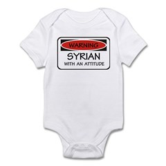 Attitude Syrian Infant Bodysuit