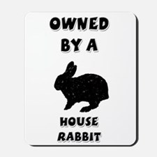 House Rabbit Mousepad