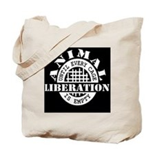 Cool Animal liberation Tote Bag