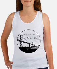"""From The 'O' To The 'Sco"""" Women's Tank Top"""