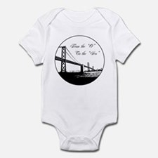 """From The 'O' To The 'Sco"""" Infant Bodysuit"""