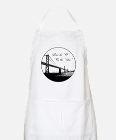 "From The 'O' To The 'Sco"" BBQ Apron"