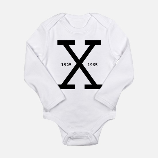 Malcolm X Day Infant Creeper Body Suit