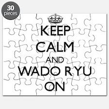 Keep calm and Wado Ryu ON Puzzle