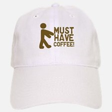 Must Have COFFEE! Zombie Baseball Baseball Cap