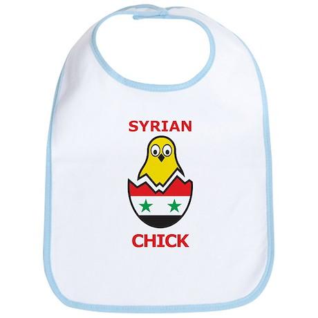 Syrian Chick Bib