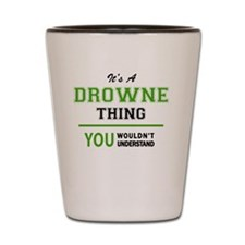 Unique Drown Shot Glass