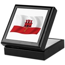 Gibraltar Flag Keepsake Box
