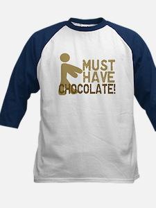 Must Have CHOCOLATE! Zombie Kids Baseball Jersey