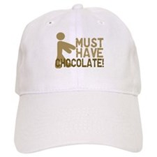 Must Have CHOCOLATE! Zombie Baseball Cap