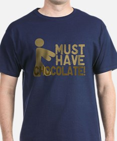 Must Have CHOCOLATE! Zombie T-Shirt