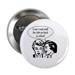 "Kids Back To School 2.25"" Button (100 pack)"
