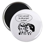 "Kids Back To School 2.25"" Magnet (100 pack)"