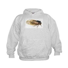 Periodical Cicada with Blue Eyes by Ro Hoodie