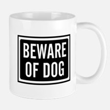 Beware Dog Mug Mugs